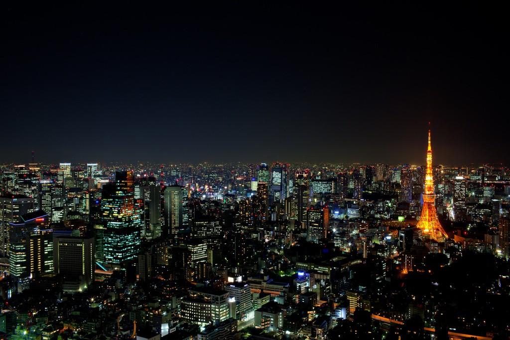 Vistas de Tokyo desde la Mori Tower. De Roger Ho