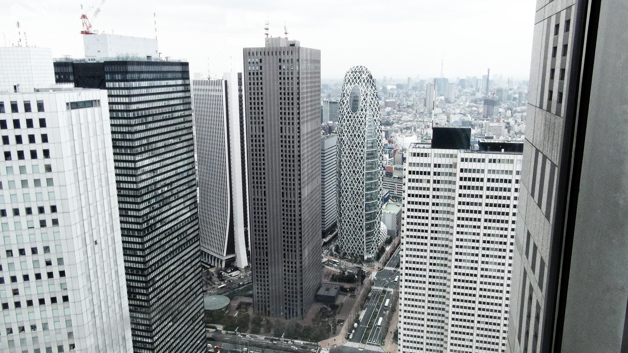 Shinjuku desde el Edificio del Gobierno Metropolitano