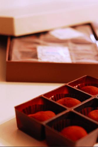 Giri choco vendido en tiendas Fuente: Foto de Taku