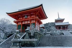 Deva Gate - Kiyomizu-dera. Foto de Yuya Horikawa
