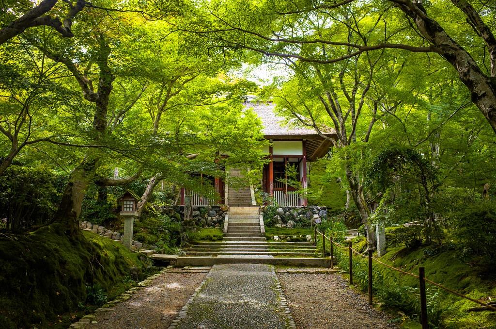 Jyoujyakkou-ji temple, Kyoto. De Marser