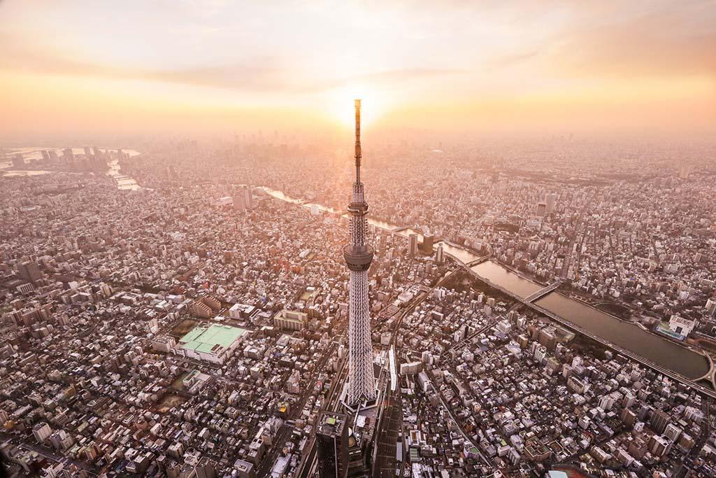 Tokyo Sky Walk. De earth-tronic