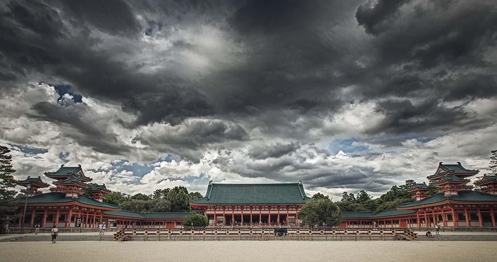 Heian Shrine. Foto de YU-JEN SHIH