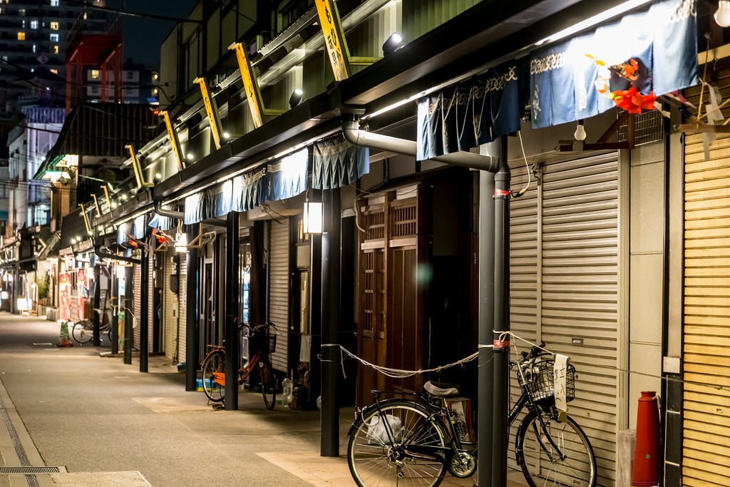 Asakusa Shopping Street. Foto de Ballet Lausanne