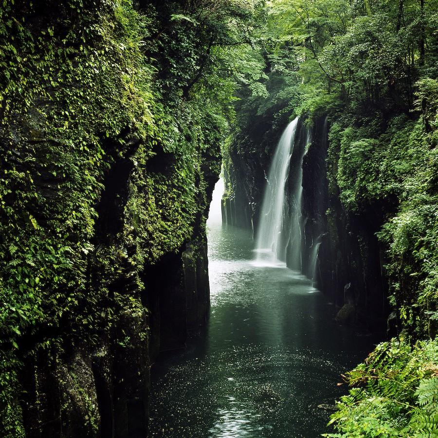 Cataratas Manai no Taki. Foto de gainsbourg × yebisu