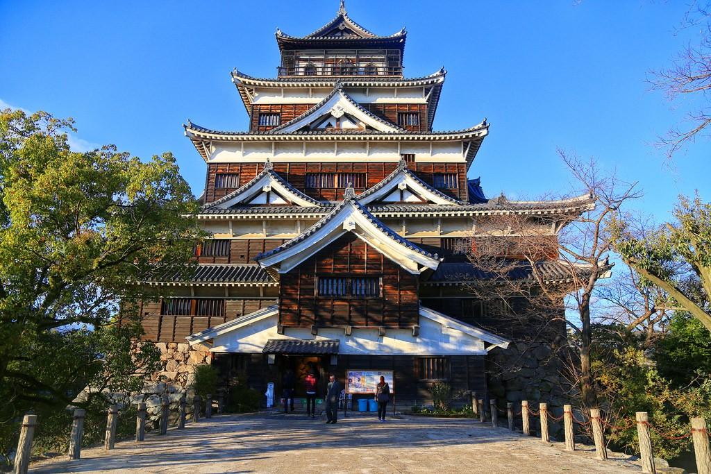 Hiroshima Castle. Foto de Raúl.