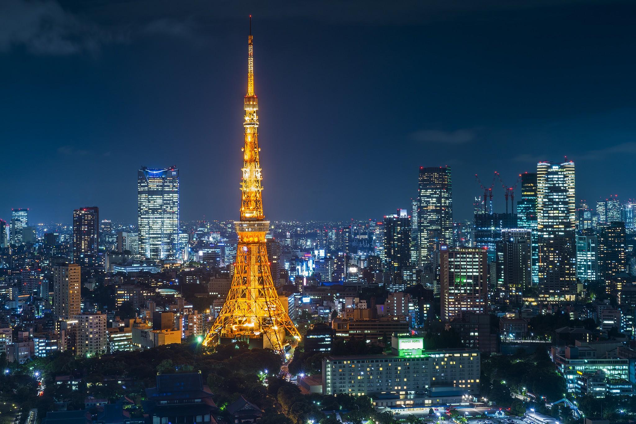 Tokyo Tower. Foto de Mike