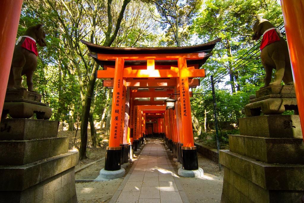 Fushimi Inari Taisha. Foto de banzainetsurfer