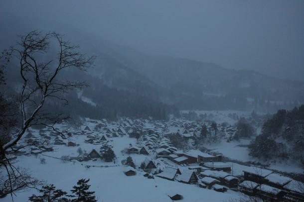 Shirakawa-go. Foto de Simon Desmarais