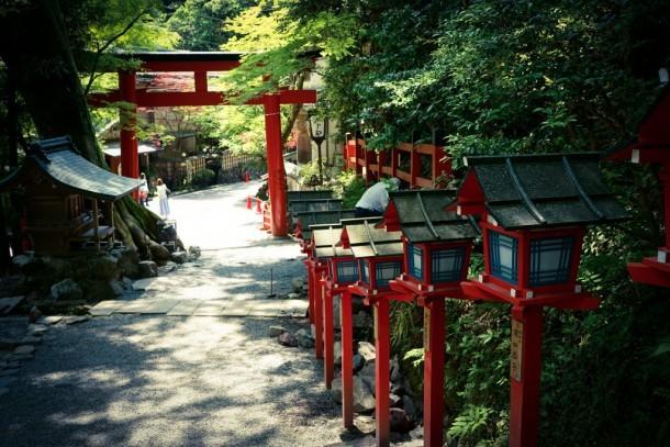 The Torii Gate of Kifune Shrine. Foto de TOTORORO.RORO