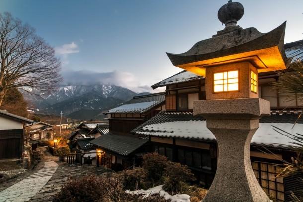 Tsumago-juku. Foto de Oscar Tarneberg