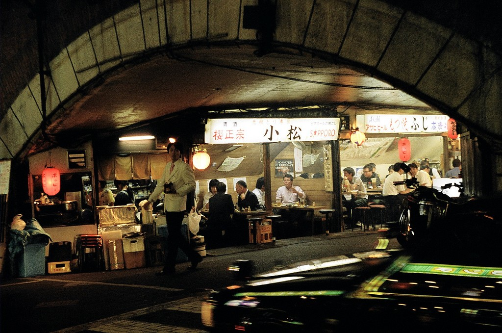 Yurakucho. Foto de Daisuke Matsumura