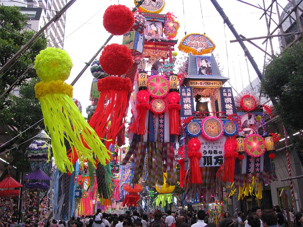 Tanabata festival in Hiratsuka