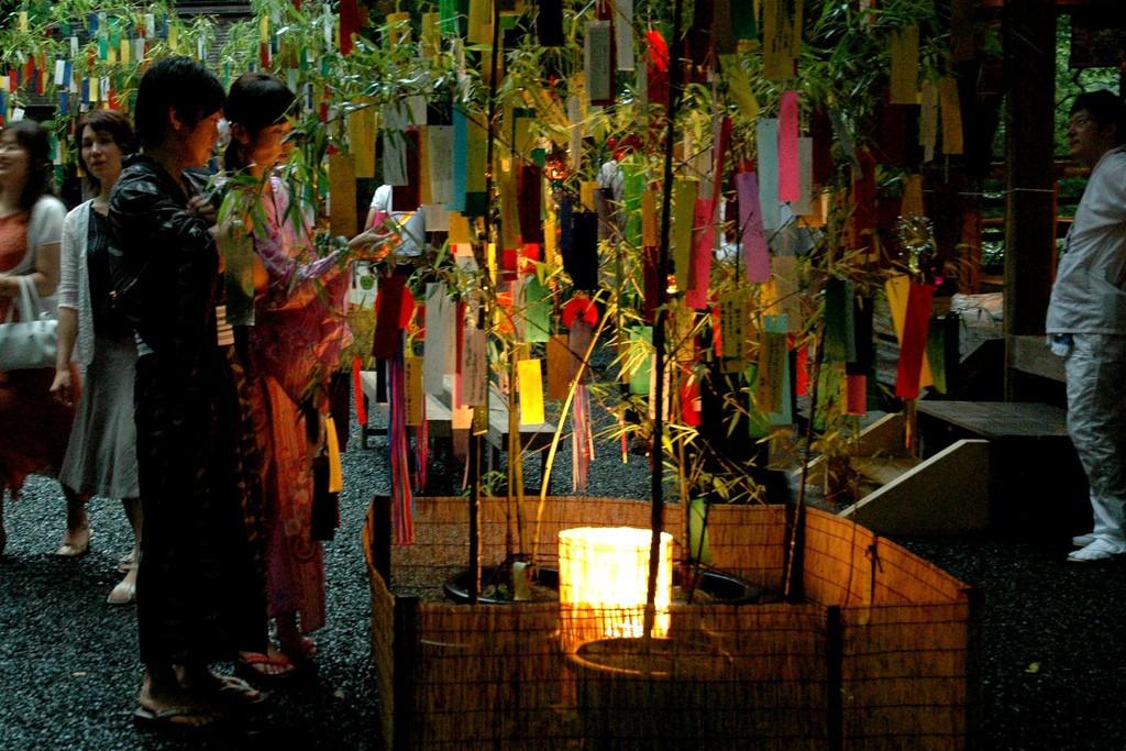 Deseos de Tanabata. Foto de Yuki Yaginuma