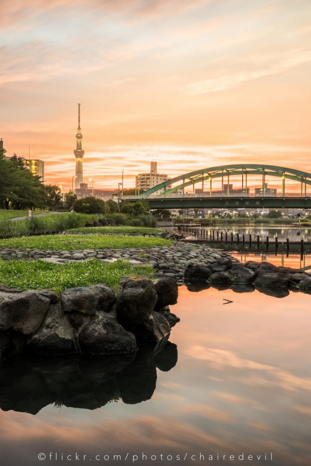 Tokyo Skytree. Foto de Chaiwat Wattayakorn