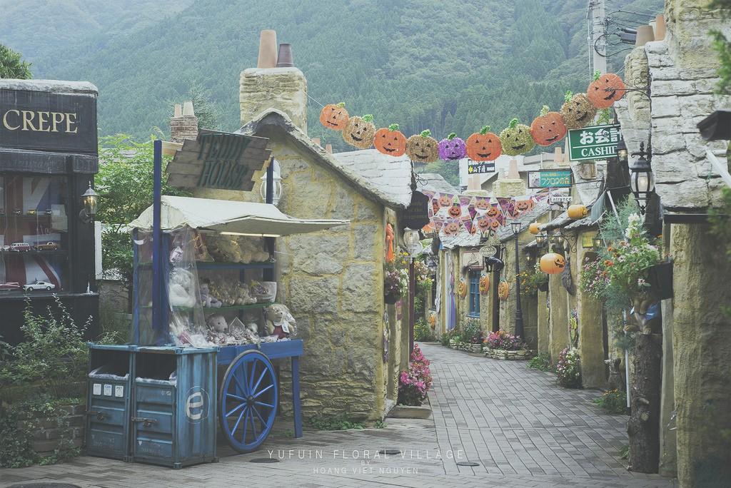 Yufuin Floral Village. Foto de Nguyen Hoang Viet