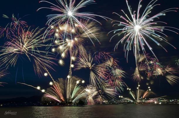 Fireworks. Foto de toshimo