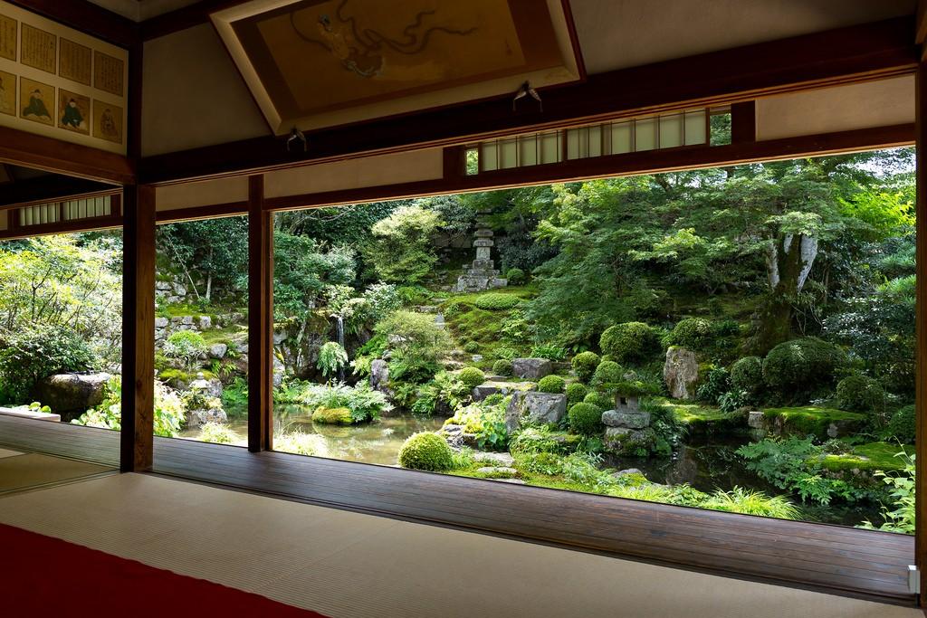 Jikkou-in Templo. Foto de Yuya Horikawa
