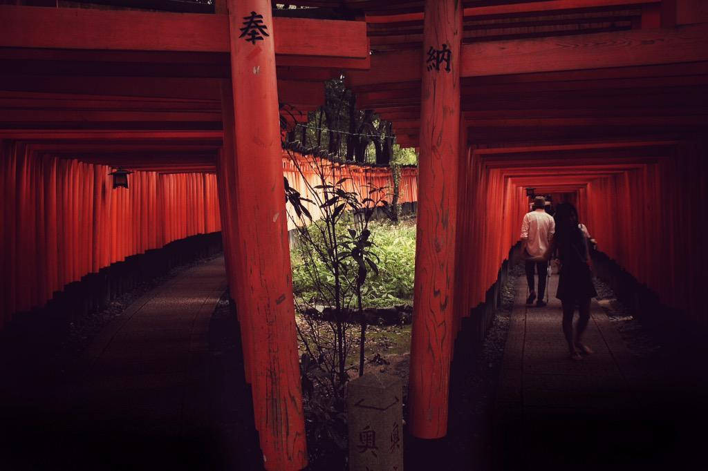 Mystery in Kyoto. Foto de Ashley Linford