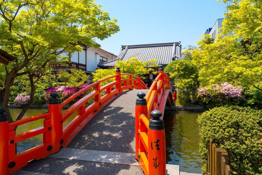 Shinsen-en Temple. Foto de Yuya Horikawa.