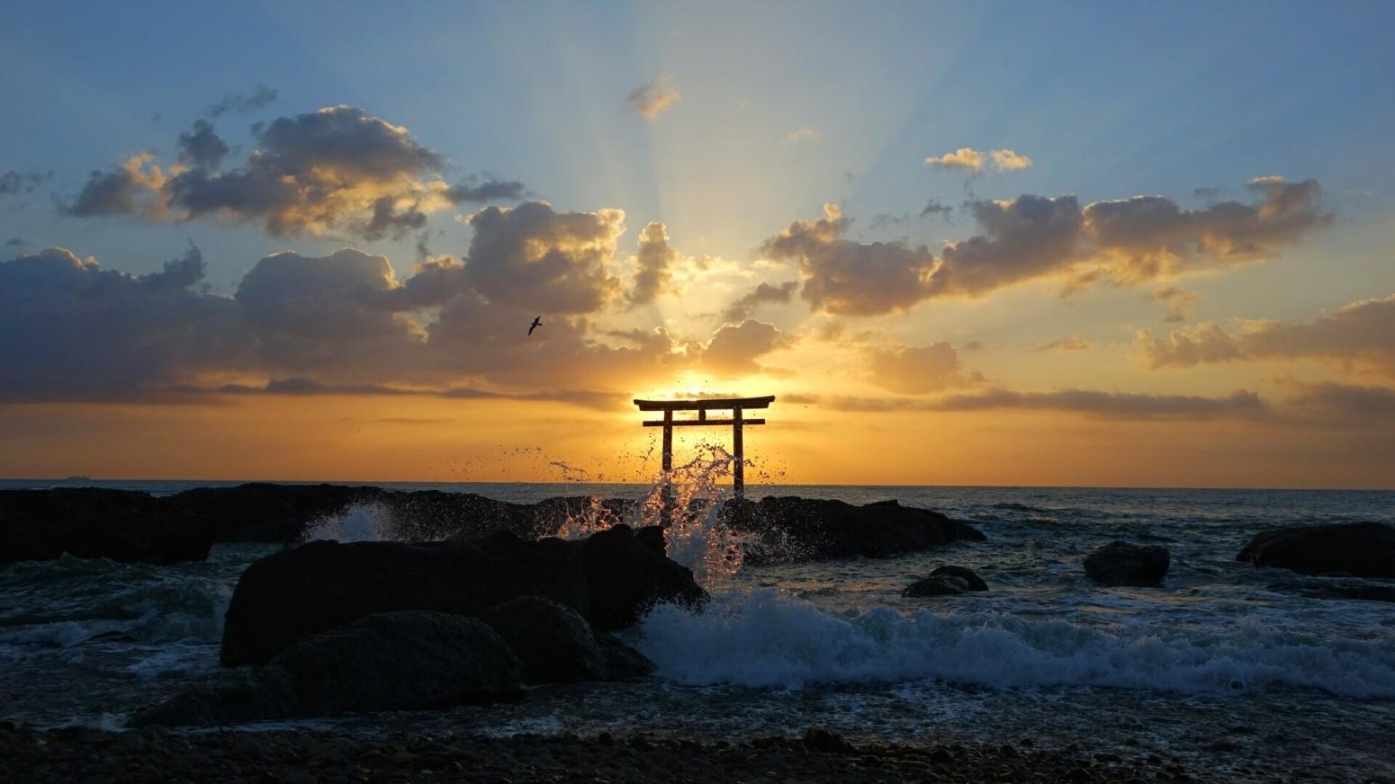 夜明け. Foto de yosi.yaginuma