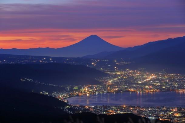 黎明の高ボッチ - Foto de jiro.koi.koi