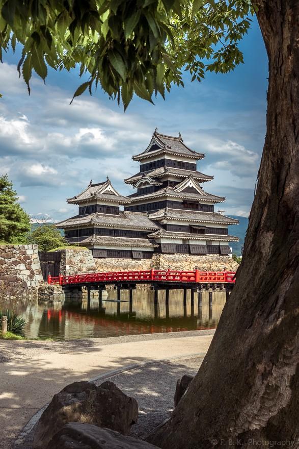 Matsumoto Castle. Foto de Frederic B. Konkel