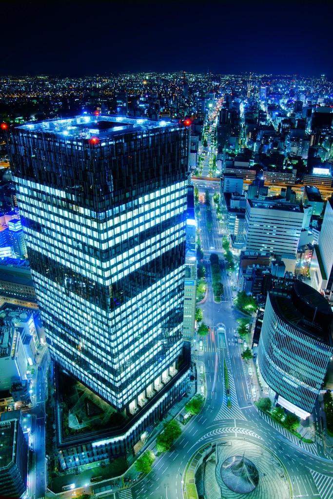 Nagoya Station - Foto de Yusaku Mizuno