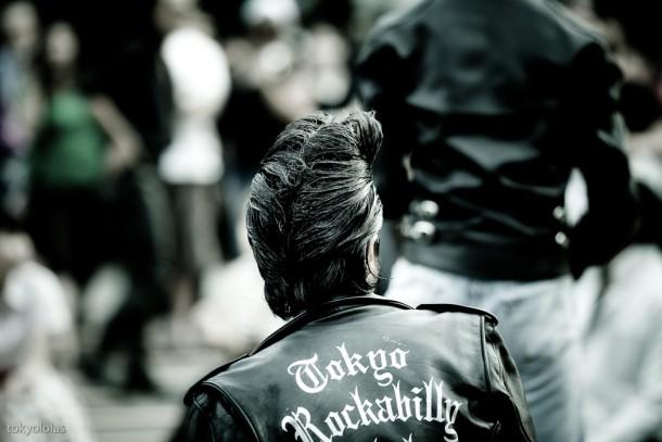 Rockabilly. Foto de Laura