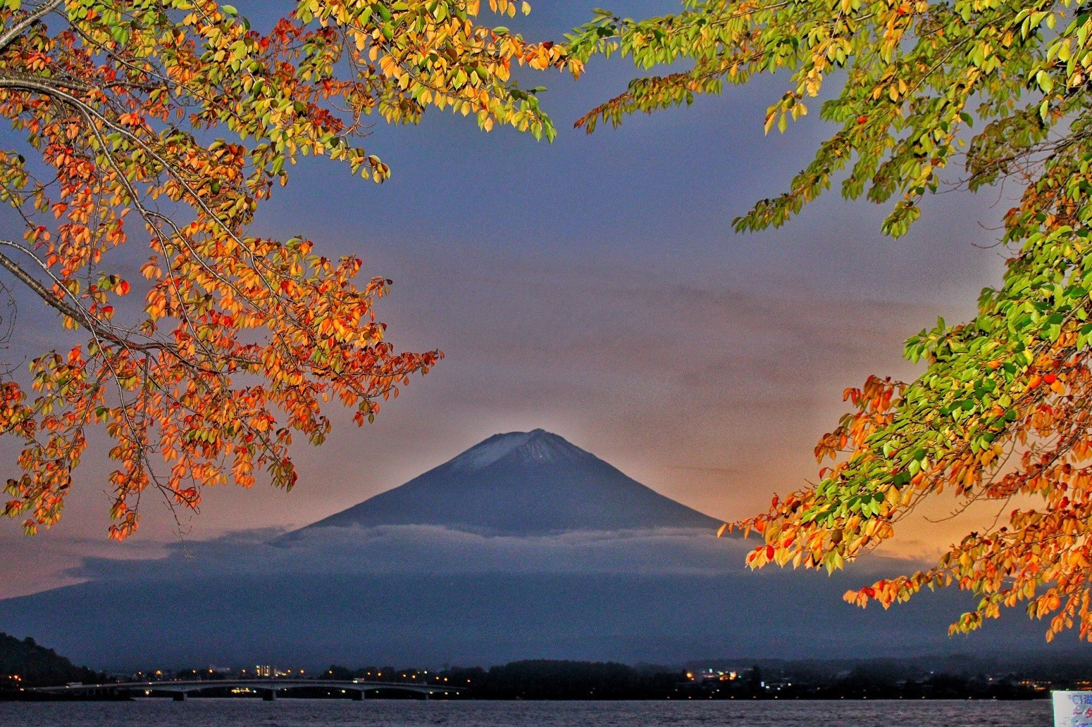 夕焼け紅葉. Foto de takako.kajio