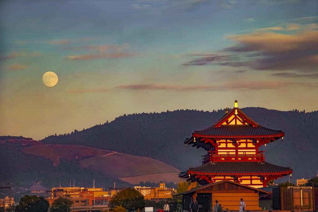 奈良 平城宮跡 - Foto de 夜香