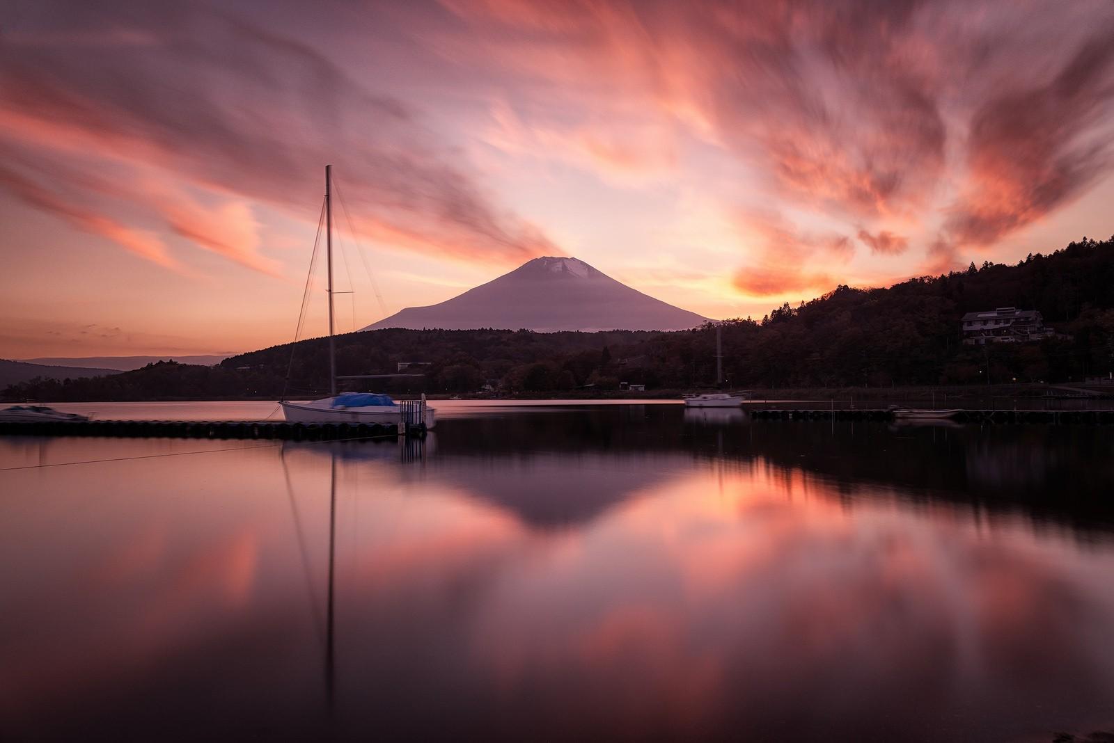 Burning Sunset - Foto de Yuga Kurita