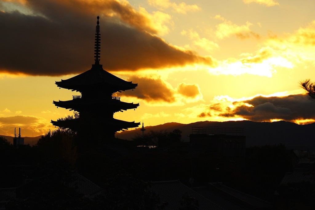Evening in Kyoto. Foto de Shinya Kawai.
