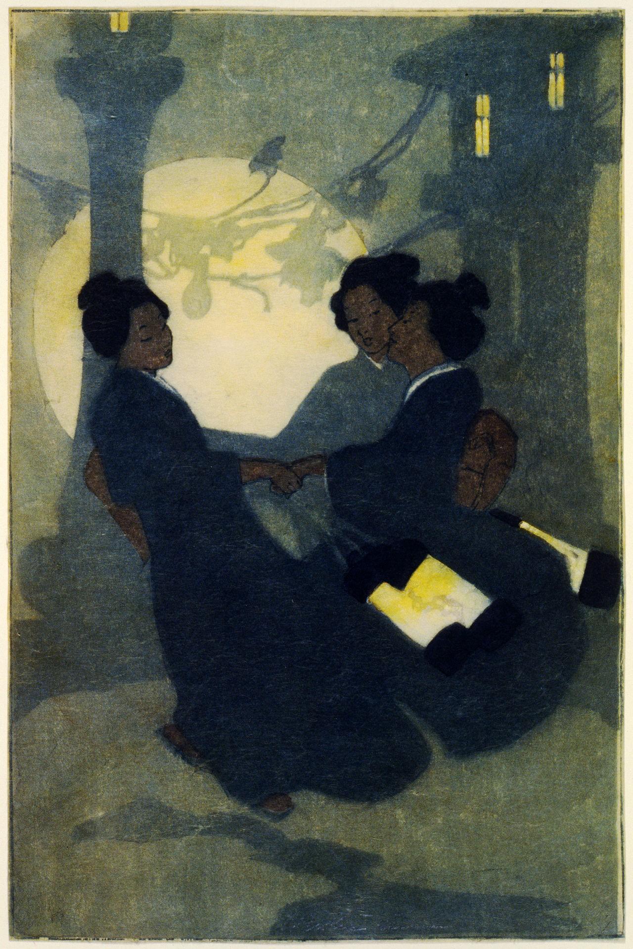 """""""Mujeres zorro"""" por Bertha Lum: kitsune como mujer"""