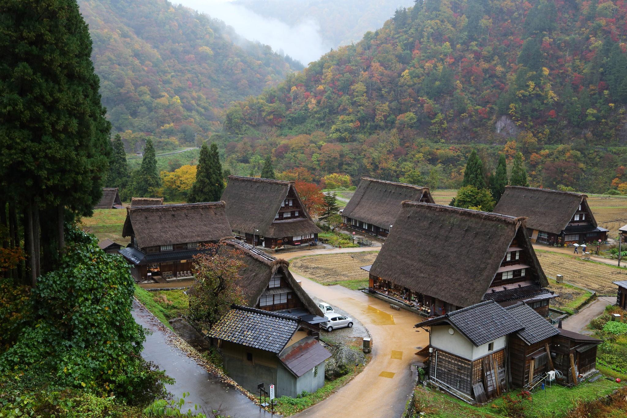Gokayama - Foto de Teruhide Tomori