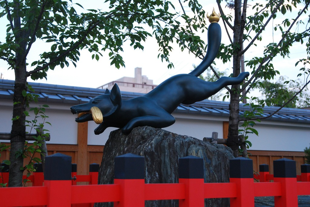 Kitsune del templo Fushimi Inari