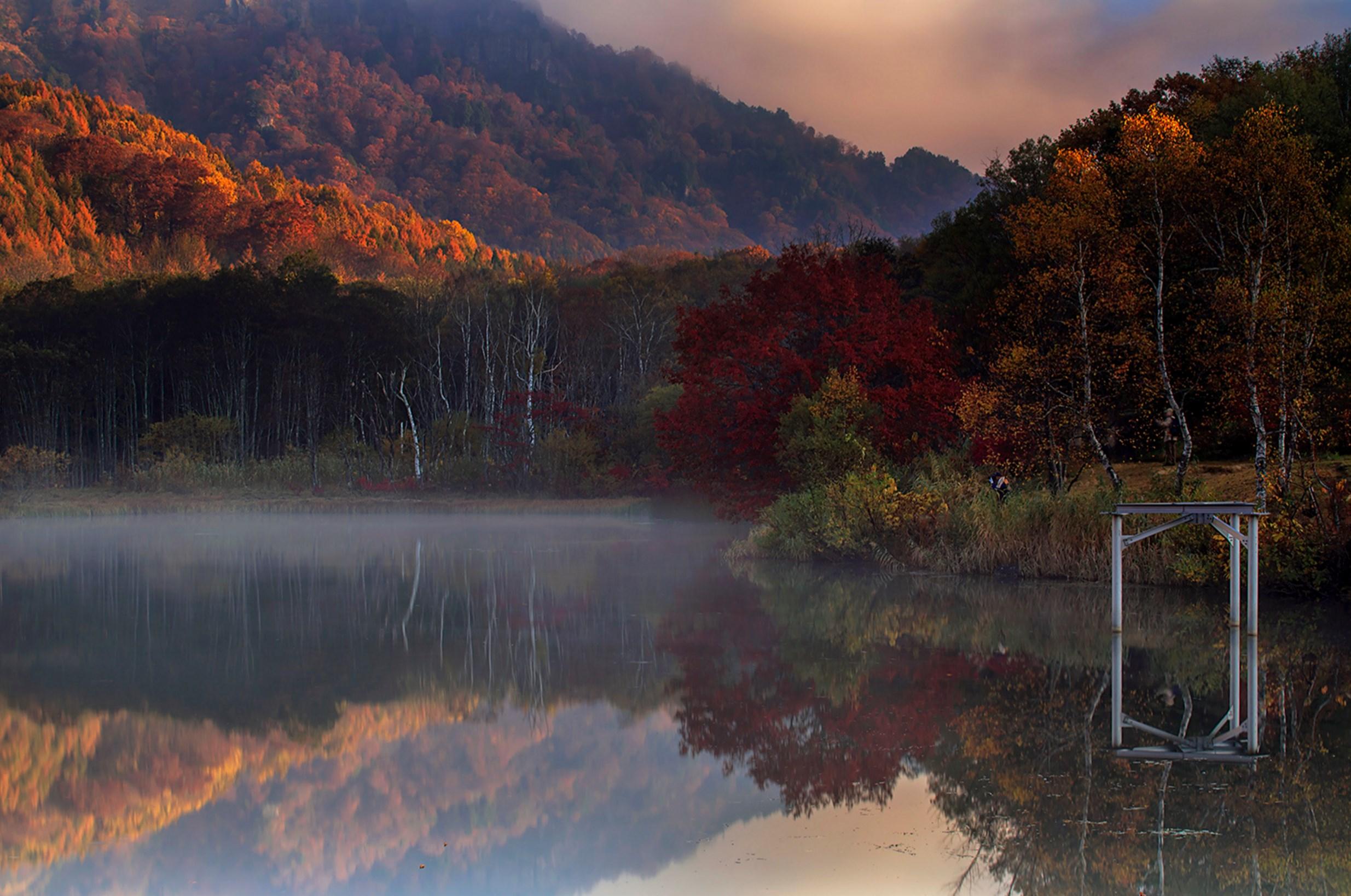 Mirror Pond. Foto de Nyoman Sundra.