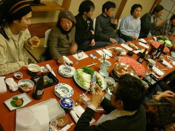 Bonenkai. Foto de Hajime Nakano