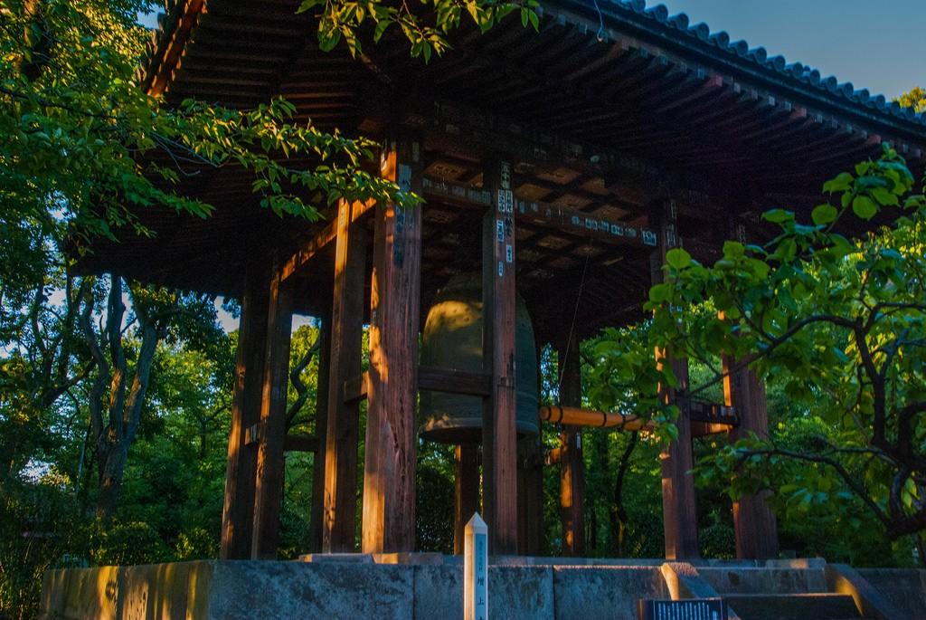 Campana del templo Zōjō-ji