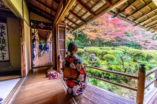 Japanese Zen Garden. Foto de John Su