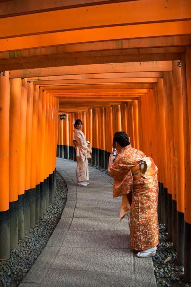 Fushimi Inari Taisha. Foto de maubri