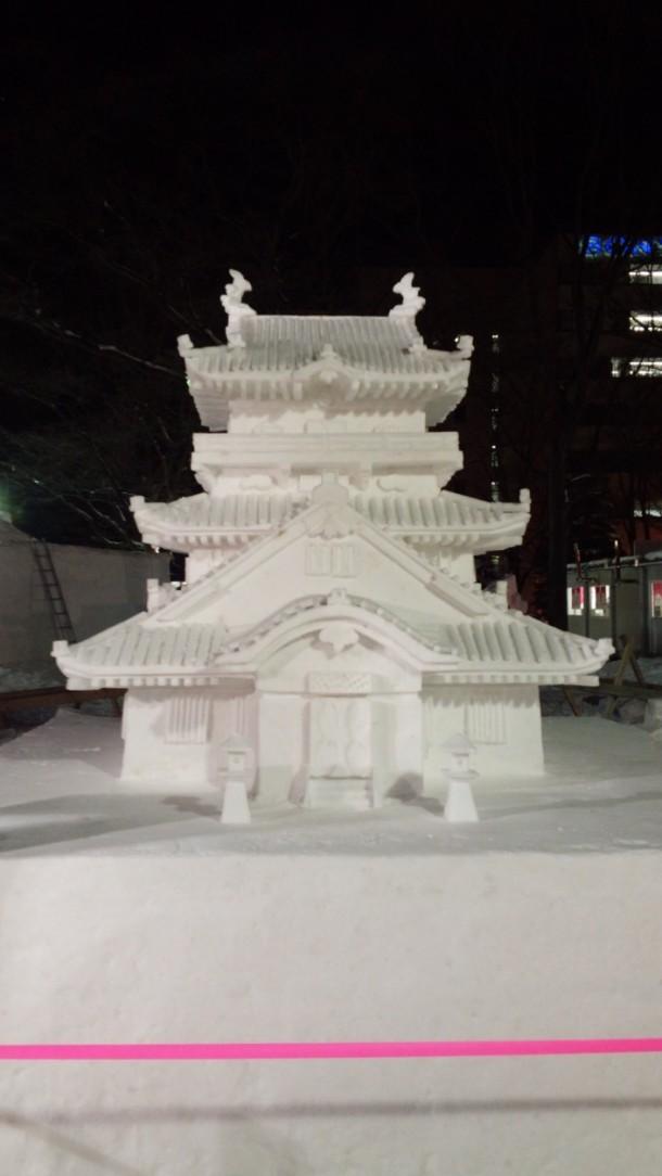 67 Sapporo Snow Festival. Foto de Dragon Capypara