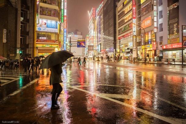 Rain. Foto de fushiana