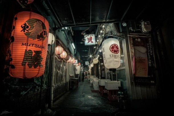 Yurakucho Alley. Foto de Scott Sim