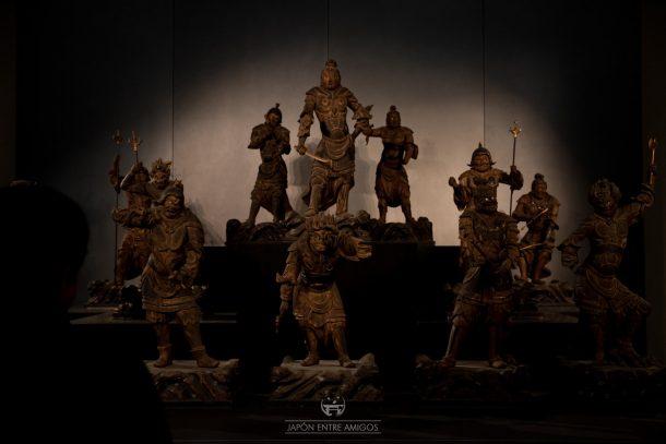 Demonios guardianes en el Museo Nacional de Tokyo
