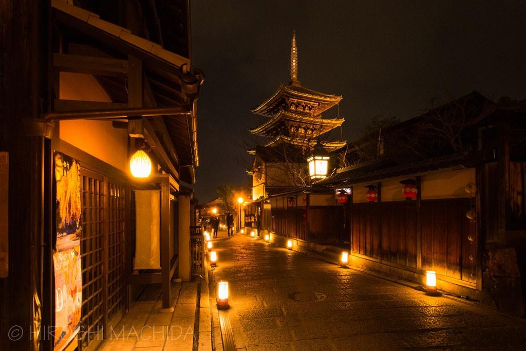 Light up Kyoto. Foto de hm Photography