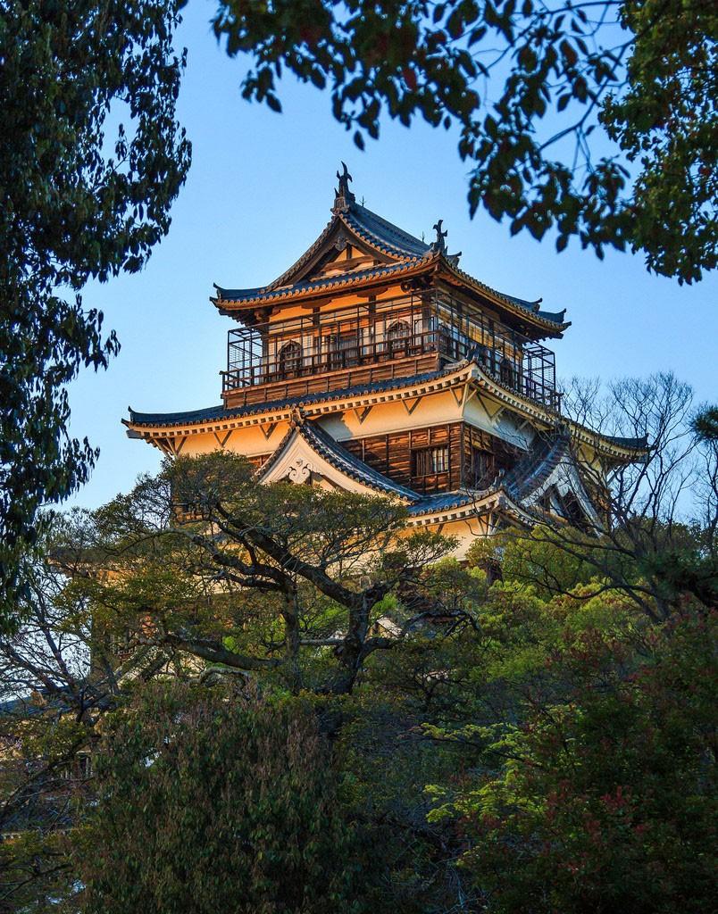 Hiroshima castle. Foto de Ken Farge LRPS