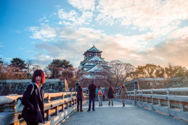 Osaka Castle. Foto de Jirapat Praeprasert