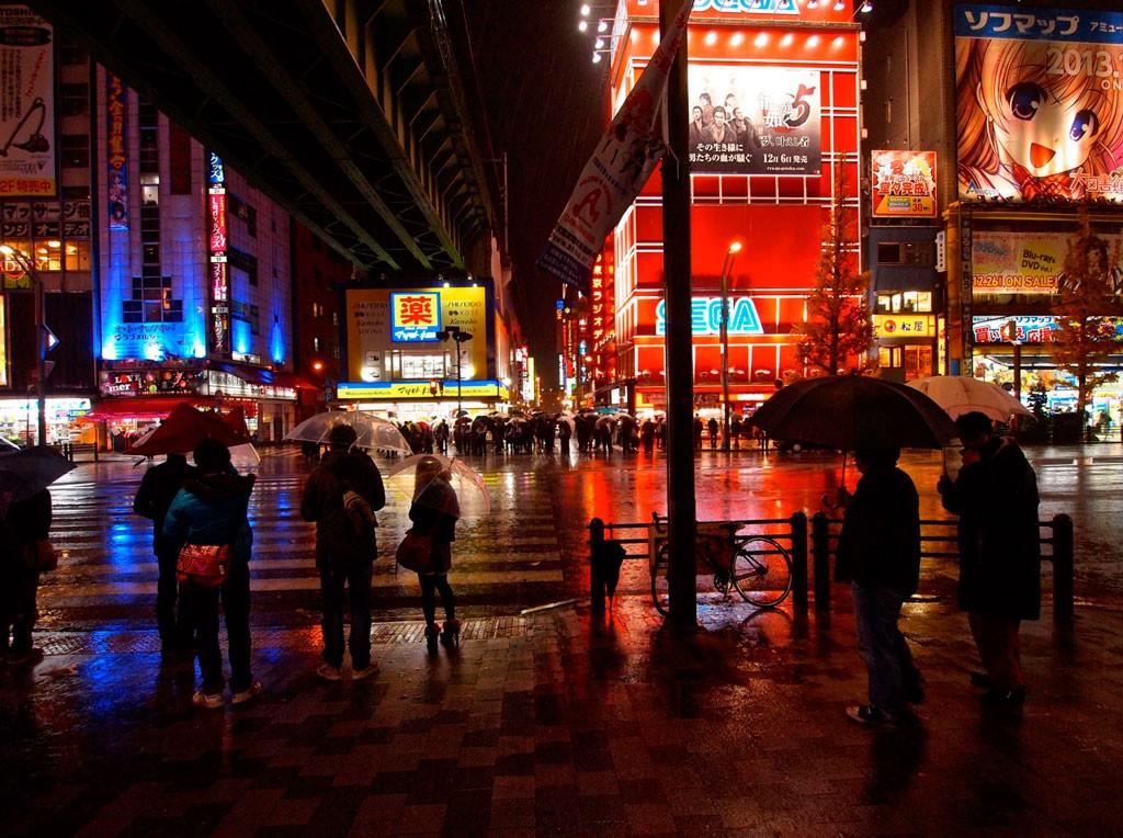 Akihabara at night. Foto de Visual_Show