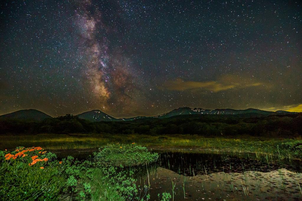 Milky Way in Mt.Hakkoda. Foto de yukio.tsushima